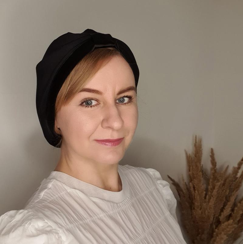 turban czarny_degustacja